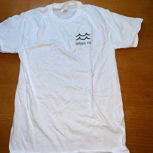 Lahoni co white t shirt